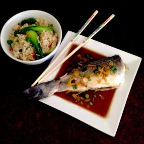 Hong Kong style steamedfish