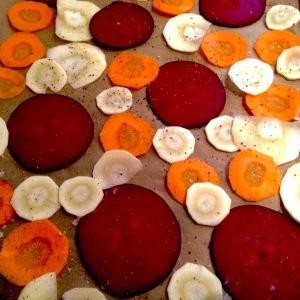 Root Vegetable crisps (4)